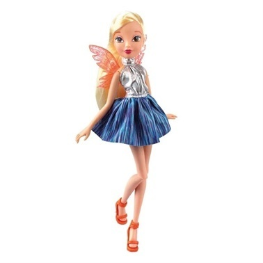 Winx Winx Fairy Rock Stella  Renkli
